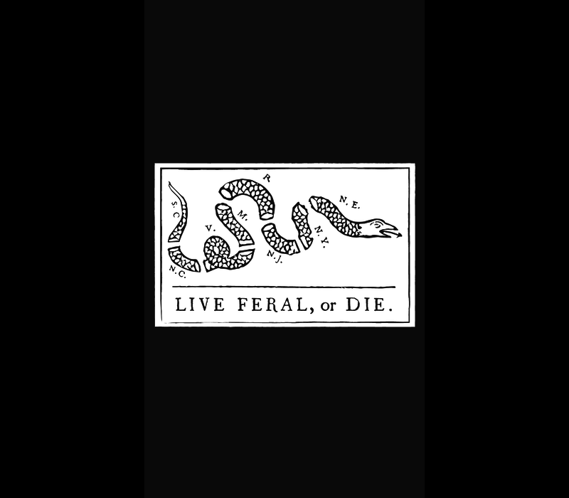 FERAL Live FERAL or Die Shirt
