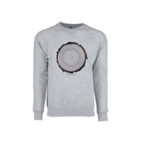 FERAL Lightweight Tree Trunk Crew Sweatshirt