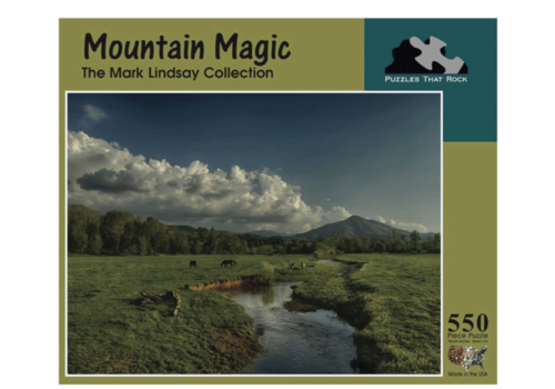 Puzzles that Rock Puzzles that Rock Mountains Magic 550 Piece Puzzle
