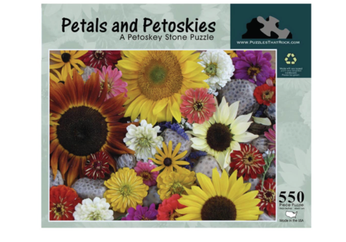 Puzzles that Rock Puzzles that Rock Flower Petals 550 Piece Puzzle