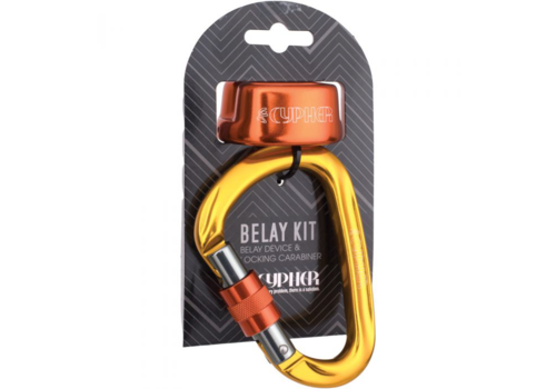 Cypher Arc Belay Device w' HMS Kit