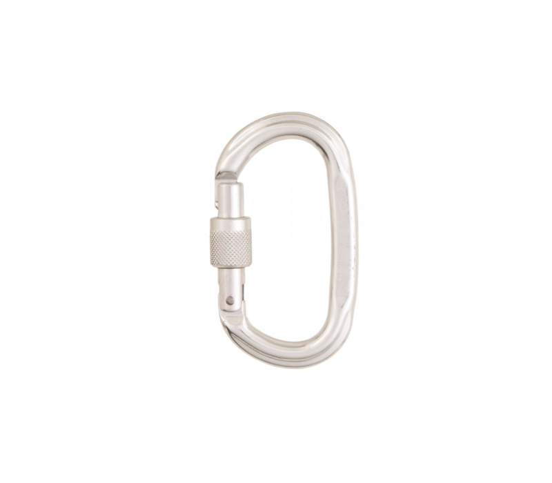 Cypher Oval Screw Gate Carabiner