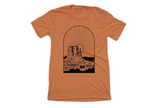 Moore Collection Moore Collection Monument Sunset T-Shirt