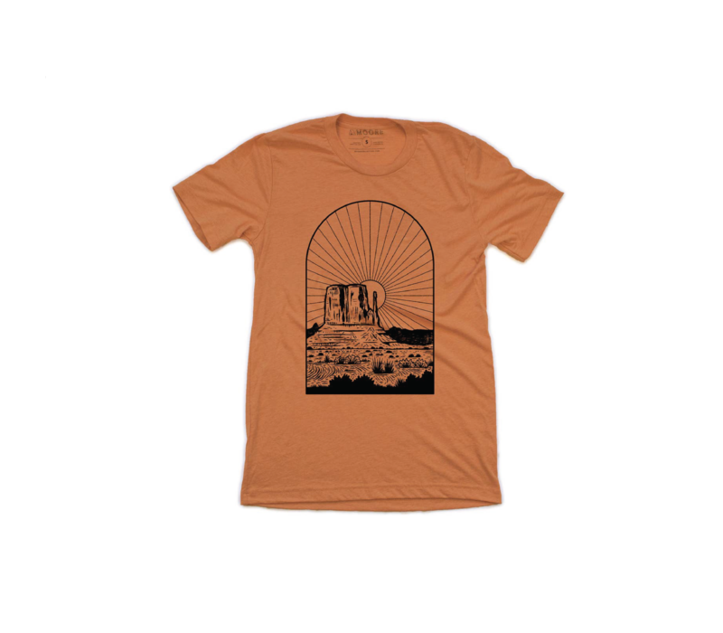 Moore Collection Monument Sunset T-Shirt