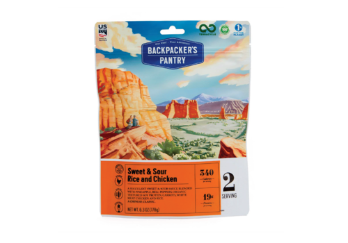 Backpacker's Pantry Backpacker's Pantry Sweet & Sour Rice W' Chicken Freeze Dried Meal