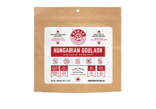 Nomad Nutrition Nomad Nutrition Hungarian Goulash 4 oz.  Freeze Dried Meal