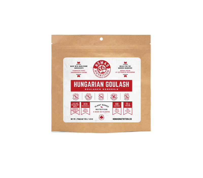 Nomad Nutrition Hungarian Goulash 4oz.  Freeze Dried Meal