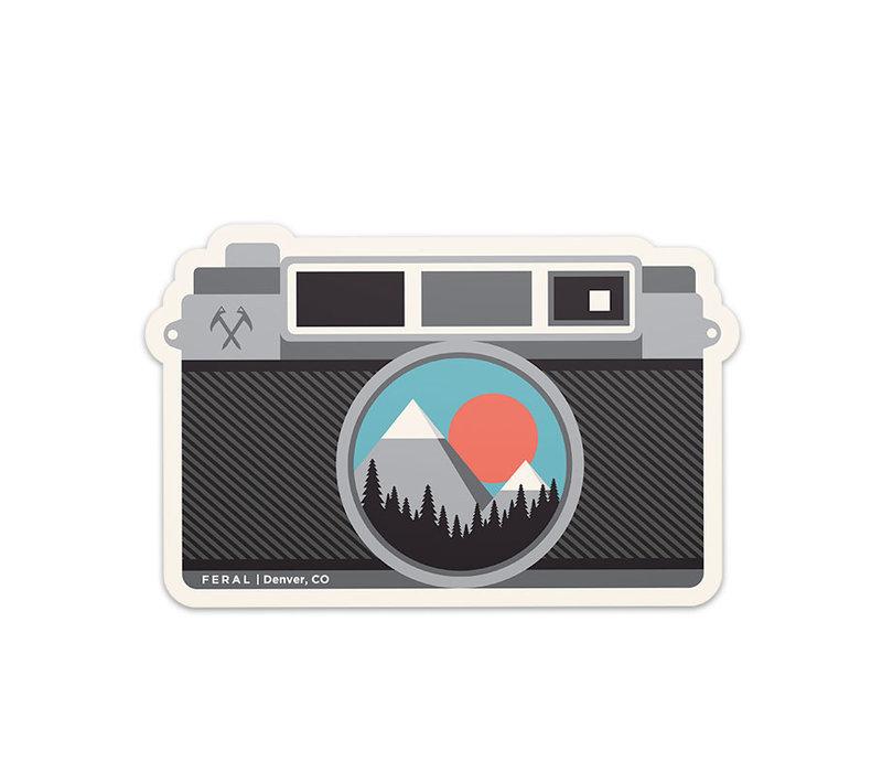 FERAL Camera Sticker