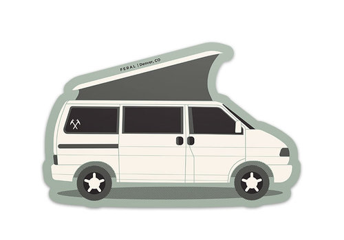 FERAL FERAL Vanlife Sticker