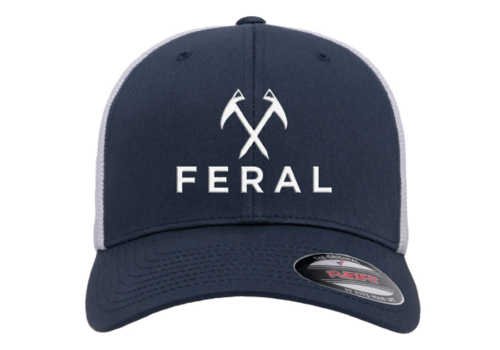 FERAL FERAL Low Profile Embroidered Trucker Hat