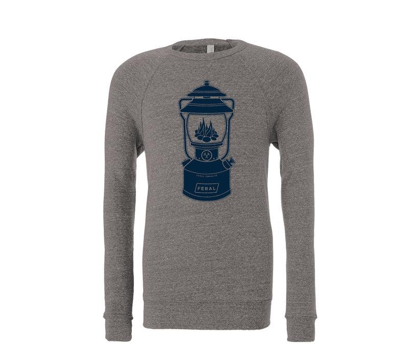 FERAL Unisex Lantern Crew Sweatshirt