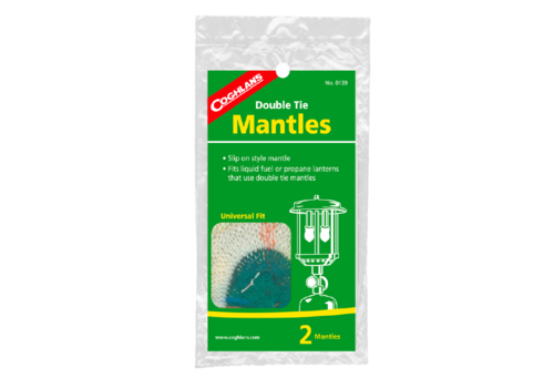 Coghlans Coghlans Single Tie Mini Mantles 2 Pack