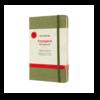 Moleskine Moleskine Voyageur Hard Cover, Medium, 4.5 x 7, Elm Green