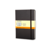 Moleskine Moleskine Classic Hard Cover Notebook, Ruled, Pocket Size, Black