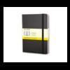 Moleskine Moleskine Classic Hard Cover Notebook, Squared, Pocket Size, Black
