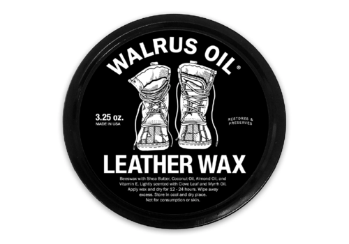 Walrus Oil Walrus Oil Leather Wax 3.25 oz.