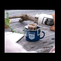 Kuju Coffee Wood Pour Over Gift Set