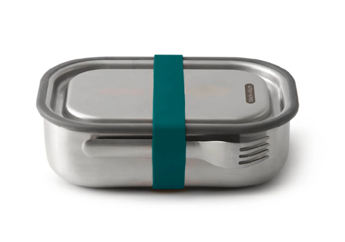 Black + Blum Black + Blum Stainless Steel Lunchbox Large Ocean