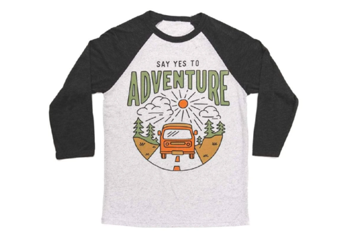 Keep Nature Wild Keep Nature Wild Say Yes to Adventure Baseball Tee
