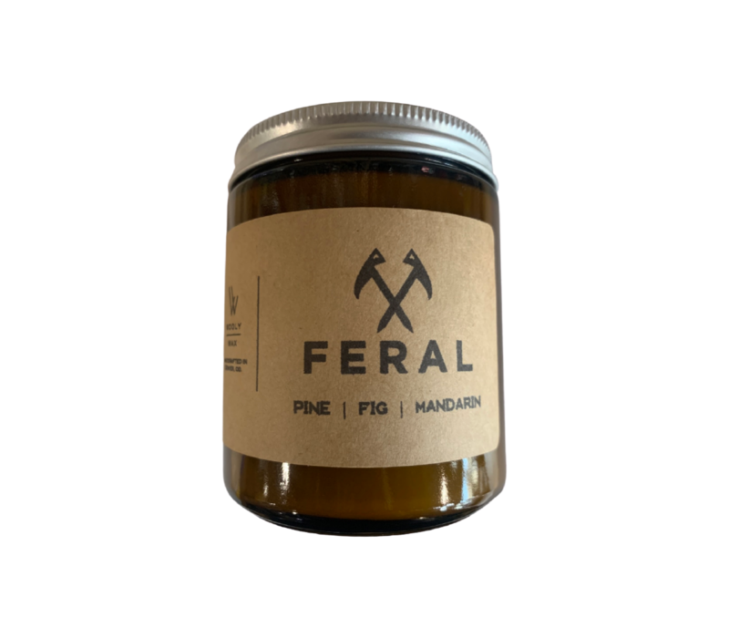 Wooly Wax | FERAL Collaboration Candle
