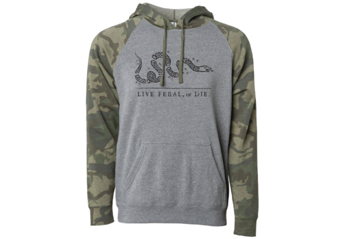 FERAL FERAL Live FERAL or Die Camo Hoodie