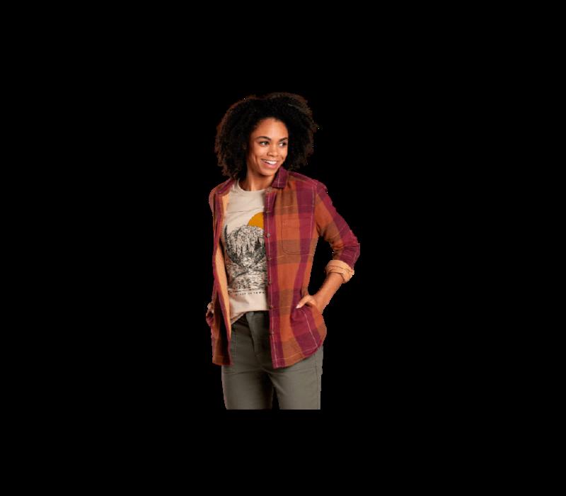 Toad & Co. Women's Cairn Duofold Long Sleeve Shirt
