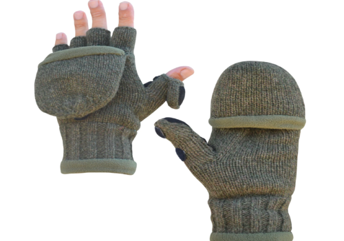 Heat Factory Heat Factory Men's Heated Ragg Wool Gloves