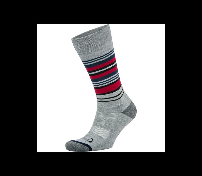 Foot Zen Men's Stripe Crew Socks