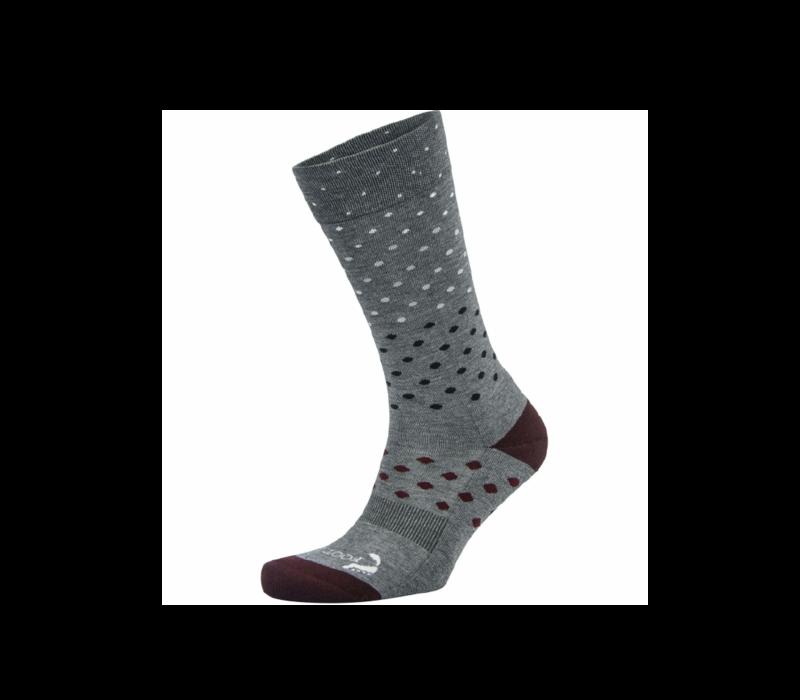 Foot Zen Men's Dot Crew Socks