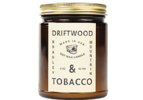 Bradley Mountain Bradley Mountain Driftwood & Tobacco Candle