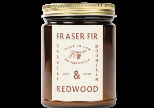 Bradley Mountain Bradley Mountain Fraser Fir & Redwood Candle