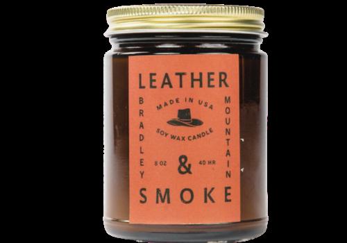 Bradley Mountain Bradley Mountain Leather & Smoke Candle