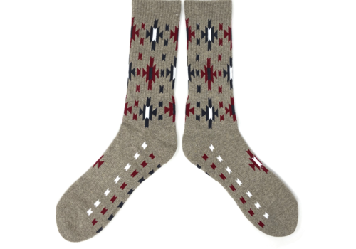The Ampal Creative Ampal Creative Heather Sun Burst Socks