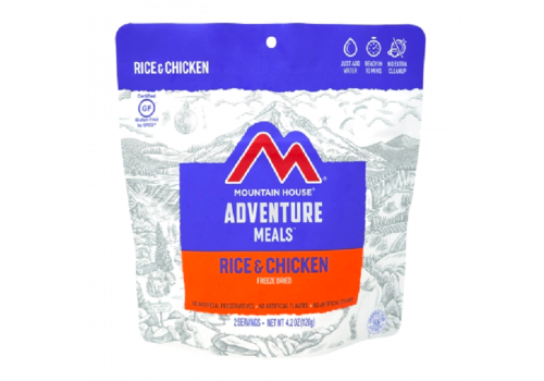 Mountain House Mountain House Chicken and Rice Freeze Dried Meal