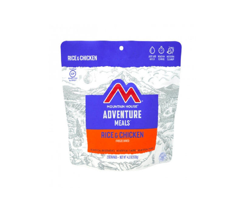 Mountain House Chicken and Rice Freeze Dried Meal