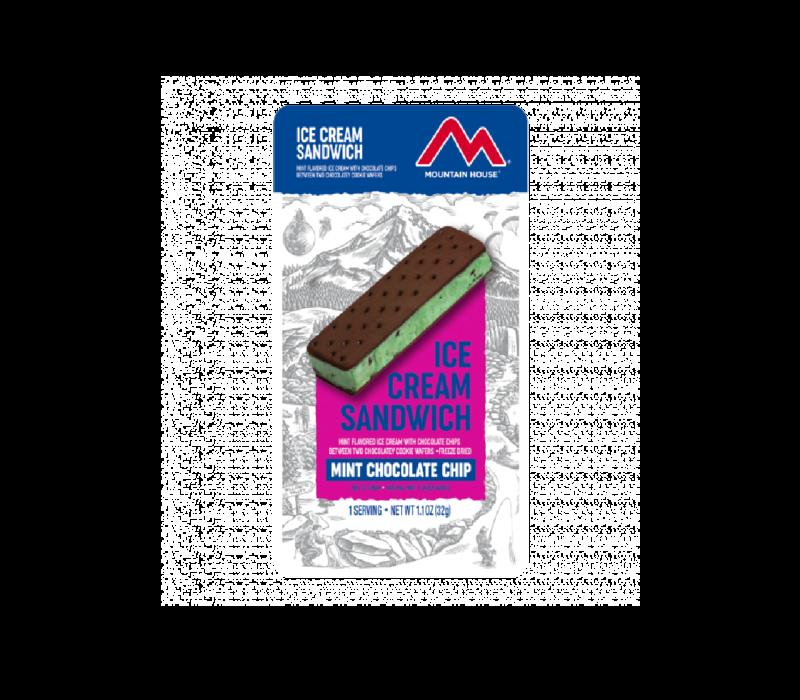Mountain House Mint Chocolate Chip Ice Cream Sandwich