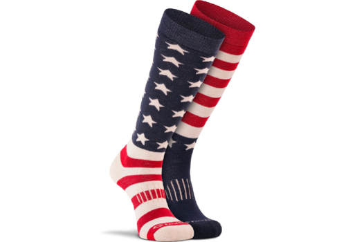 FoxRiver Fox River Old Glory Ski Socks