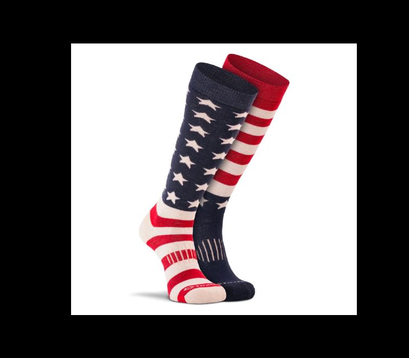 Fox River Old Glory Ski Socks