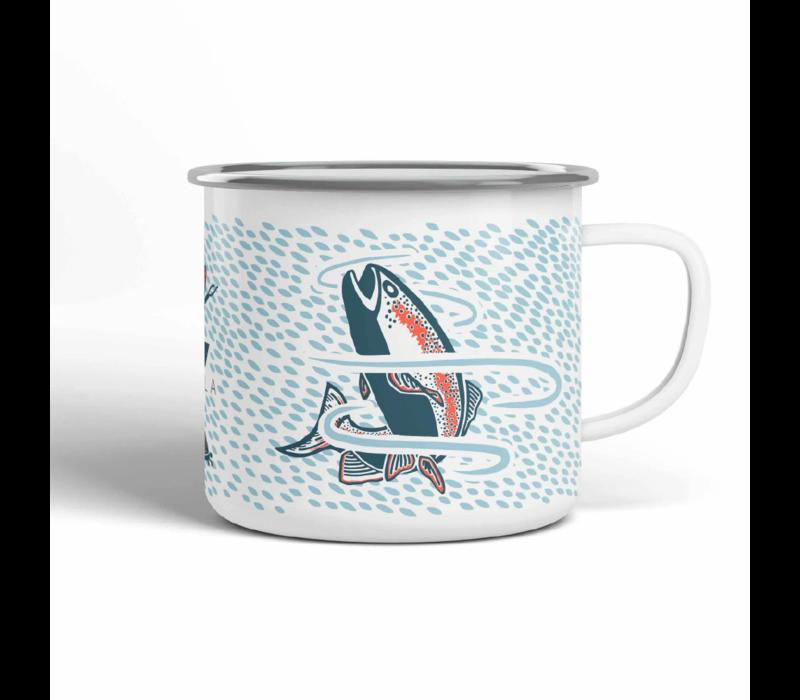 Vela Trout Camp Mug