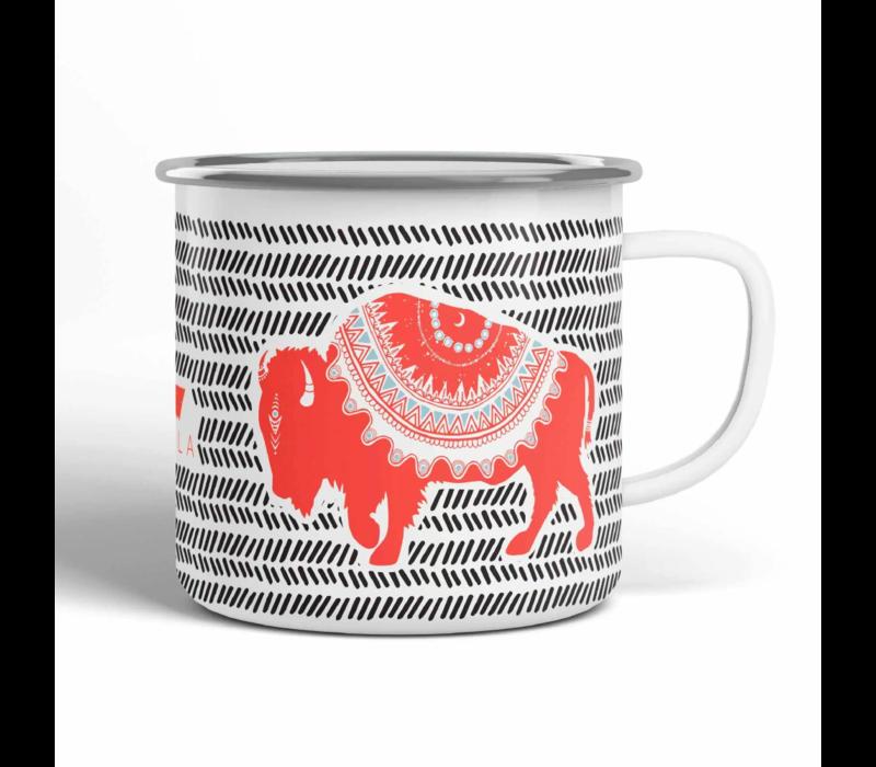 Vela Buffalo Camp Mug