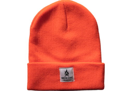 Green Cove Collective Green Cove Collective Watch Beanie Hunter Orange