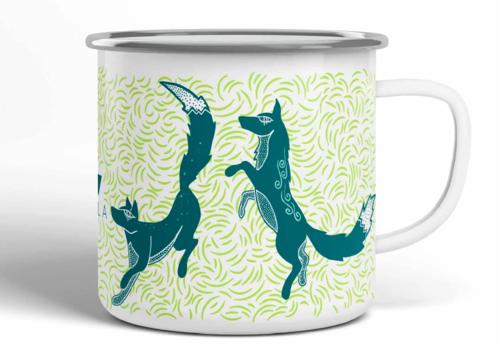 Vela Vela Fox Camp Mug