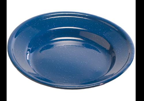 """TexSport 10"""" Enamel Dinner Plate Blue"""