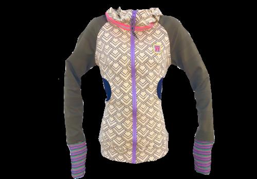 Vander Jacket Women's Style #5 Ivory | Olive Jacket
