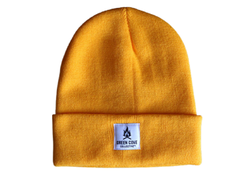 Green Cove Collective Green Cove Collective Watch Beanie Gold