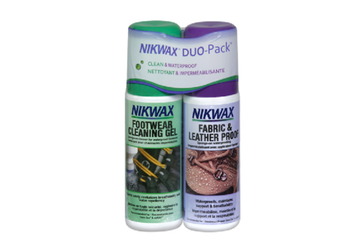 Nikwax Nikwax Fabric & Leather Twin Pack