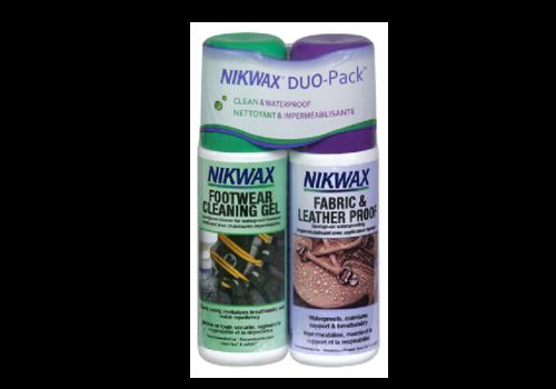 Nikwax Nikwax Fabric & Leather Twin Pack