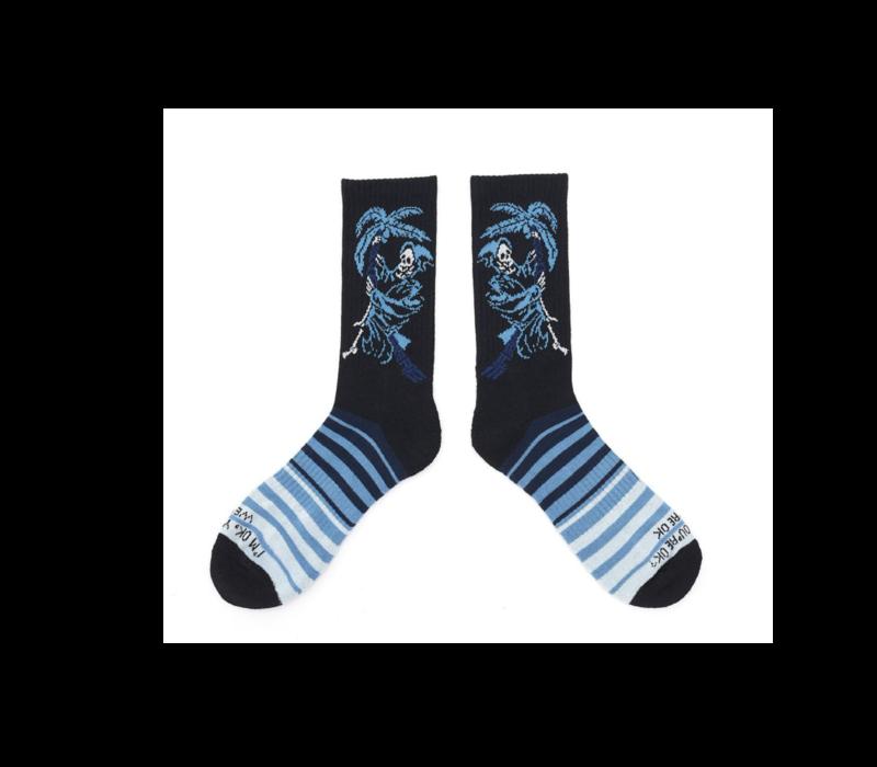 Ampal Creative Blue Reaper Socks