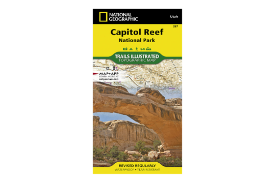 National Geographic National Geographic #267 Capitol Reef National Park Map