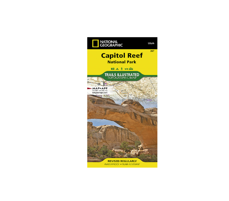 National Geographic #267 Capitol Reef National Park Map